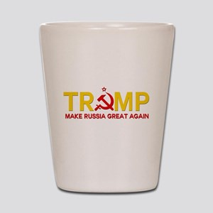 Trump Make Russia Great Again Shot Glass